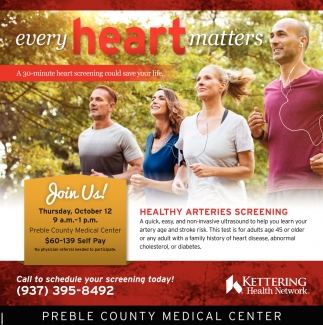 Healty Arteries Screening