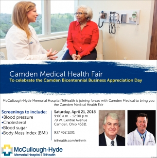 Camden Medical Health Fair