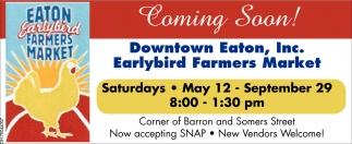 Eaton Earlybird Farmers Market