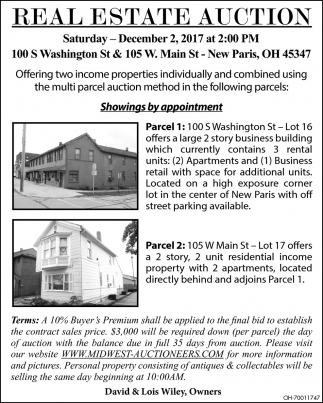 Real Estate Auction