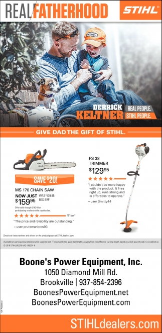 Give Dad the gift of Stihl