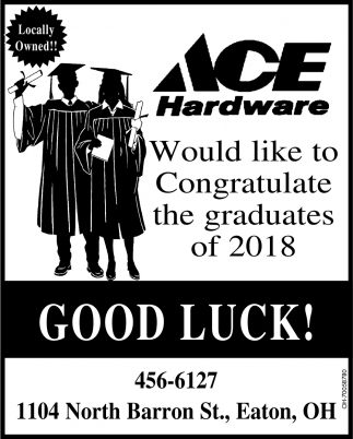 Congratulations Grads of 2018