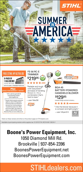Stihl Summer in America