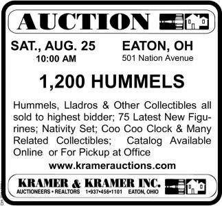 1,200 Hummels
