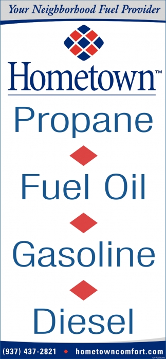 Propane, Fuel Oil, Gasoline, Diesel