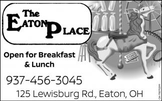 Open for Breakfast & Lunch