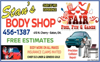 Chief E-Z Liner & Velocity, Precision Collision Repair