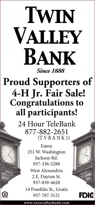 4-H Jr. Fair Sale!
