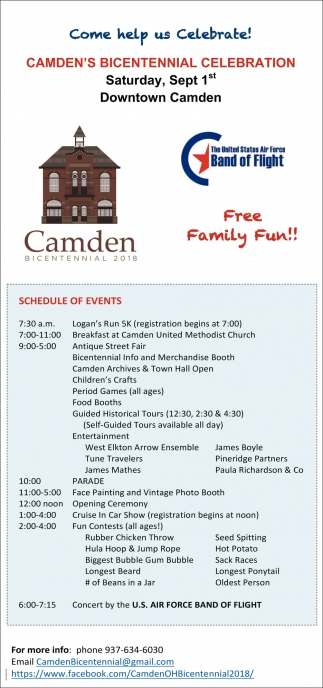 Camden's Bicentennial Celebration