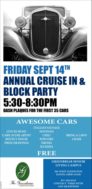 Annual Cruise In & Black Party