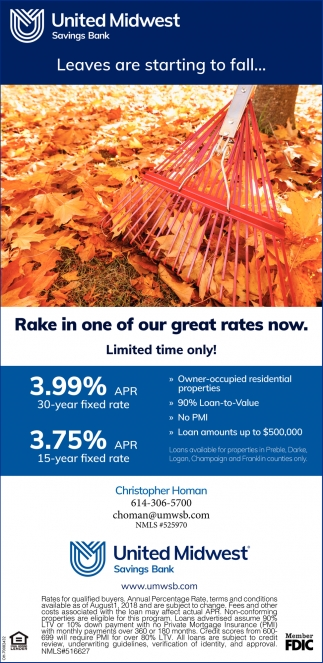 Rake in one of our great rates now