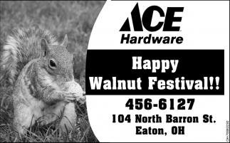 Happy Walnut Festival!!