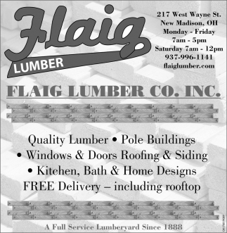 Your Full Service Lumber Company