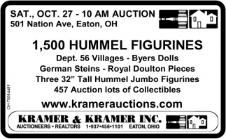 1,500 Hummel Figurines