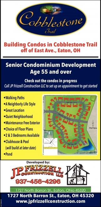 Senior Condominium Development Age 55 and over