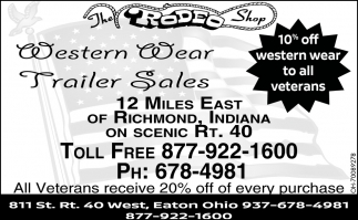 Western Wear, Trailer Sales