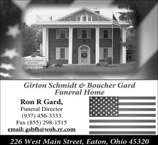Ron R Gard, Funeral Director