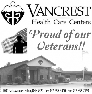 Proud of our Veterans