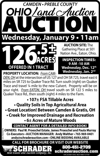 Ohio Land Auction