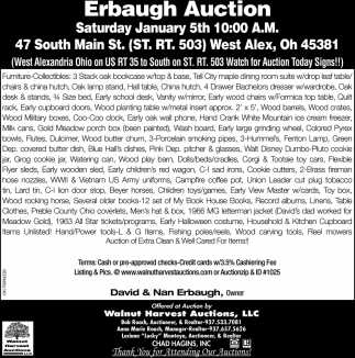 Erbaugh Auction