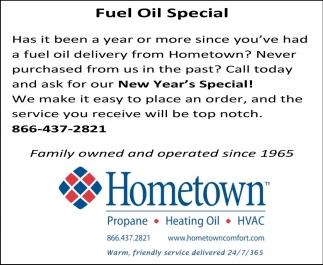 Fuel Oil Special
