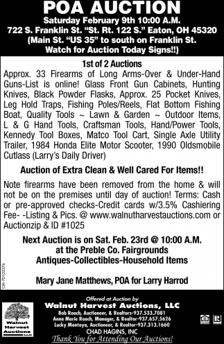 POA Auction