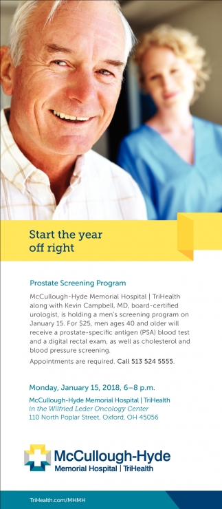 Prostate Screening Program